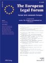 The European Legal Forum